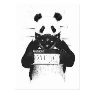Bad panda postcard