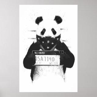 Bad Panda Poster at Zazzle