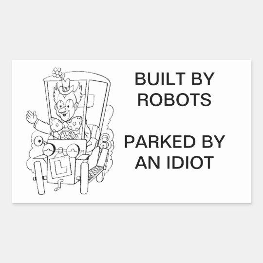 Bad Parking Sticker