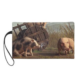 Bad Pigs Wristlet Purses