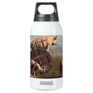 Bad Pigs Insulated Water Bottle