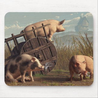 Bad Pigs Mouse Pad