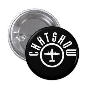 Bad plane Badge Pinback Button