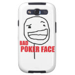 Bad Poker Face Galaxy S3 Cases