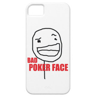 Bad Poker Face iPhone SE/5/5s Case