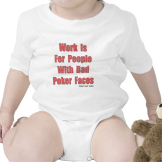 Bad Poker Faces T Shirts