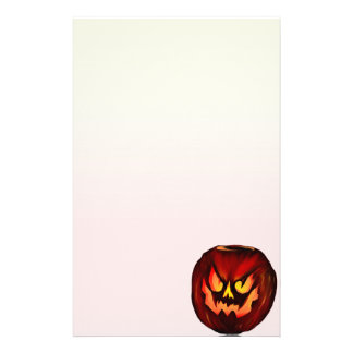 Bad Pumpkin2 stationery_vertical.v2. Stationery