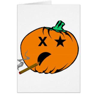 Bad Pumpkin Card