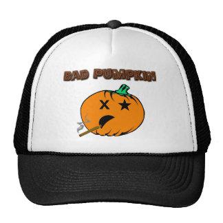 Bad Pumpkin Trucker Hat