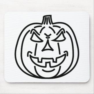 Bad pumpkin mouse pad