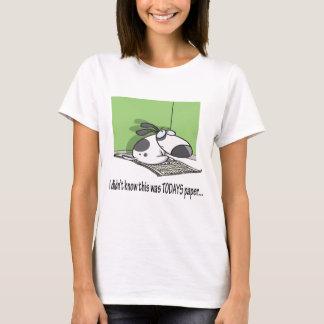 Bad Puppy  Newspaper T-Shirt