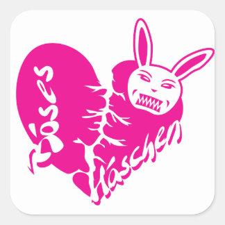 Bad rabbit sticker