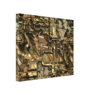 Bad Robot 1 Wrapped Canvas Gallery Wrap Canvas