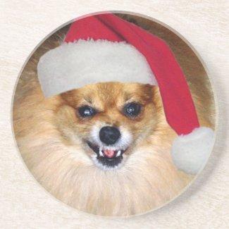 Bad Santa Christmas coaster