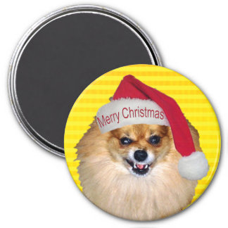 Bad Santa Christmas magnet