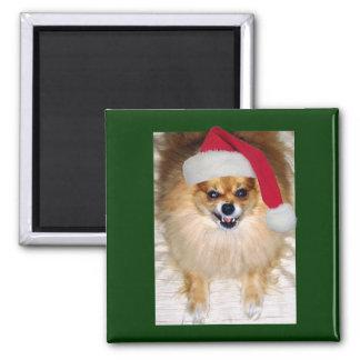 Bad Santa Christmas magnet