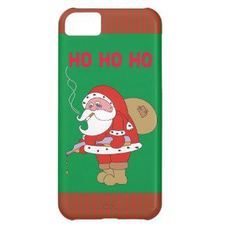 Bad Santa Funny Cartoon Xmas iPhone 5 Case