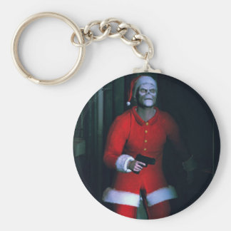 bad santa keychain