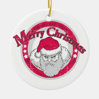 Bad Santa Ornament