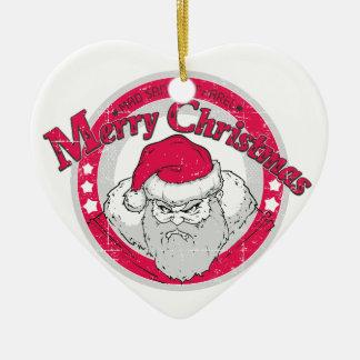 Bad Santa Ornaments