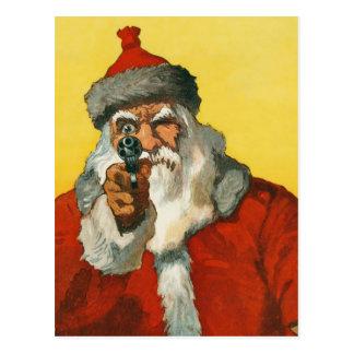 Bad Santa! Postcard