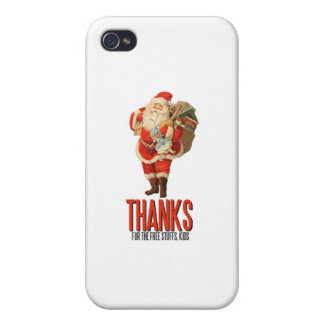 Bad Santa Rob Your House iPhone 4 Cover