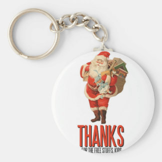 Bad Santa Rob Your House Keychain