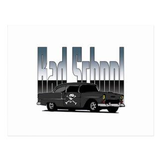 Bad School 57 Chevy Postcard
