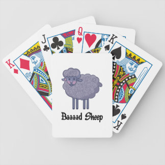 BAD SHEEP BICYCLE PLAYING CARDS