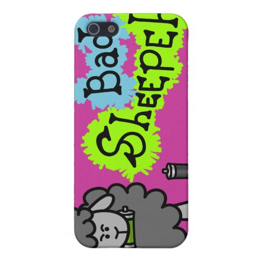 Bad sheepeh spraypaint case cover for iphone 5 zazzle for Spray paint phone case