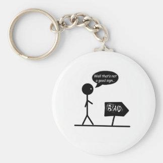 Bad Signs... Keychain