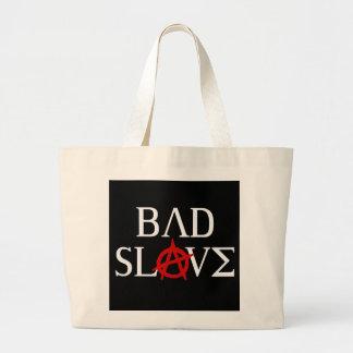 Bad Slave Canvas Bags