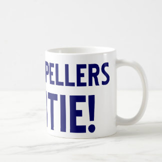Bad Spellers Untie Coffee Mug