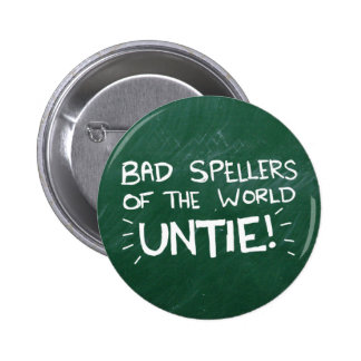 Bad Spelling Pinback Buttons