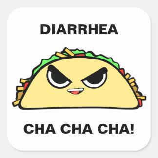 Bad Taco Square Sticker