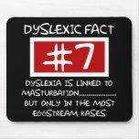 Bad taste dyslexic joke mousemats
