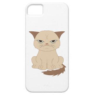 Bad-tempered cat iPhone SE/5/5s case