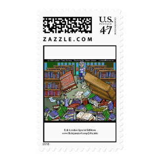 Bad Things Happen Cartoon Classic Real Stamps