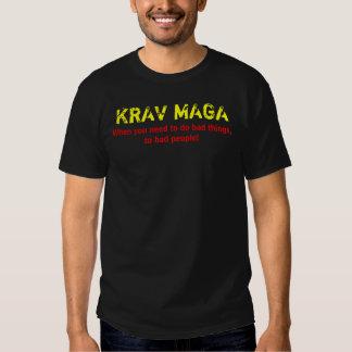 Bad things Krav Maga T T Shirts