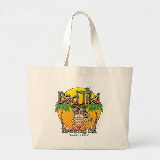 Bad Tiki Brewing Company Large Tote Bag