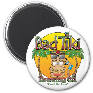 Bad Tiki Brewing Company Magnet