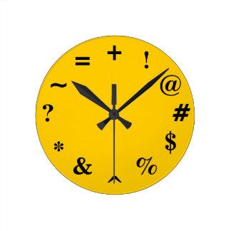 Bad Time Round Clock