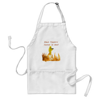 Bad Tippers Adult Apron