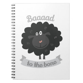 Bad To Bome Note Books