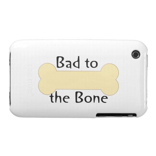 Bad to the Bone (bone) iPhone 3 Case