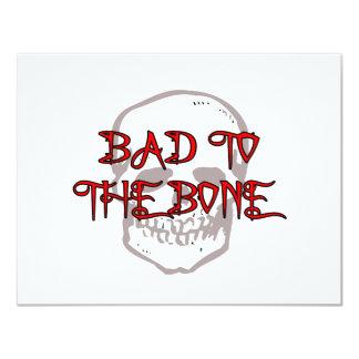 Bad To The Bone Card