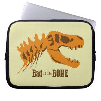 Bad to the Bone Laptop Sleeve
