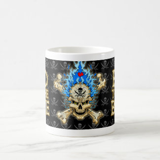 Bad to the Bone Basic White Mug