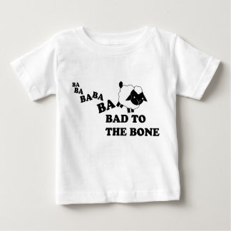 Bad to the Bone Sheep. Baby T-Shirt