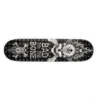 Bad to the Bone Skull Skate Decks